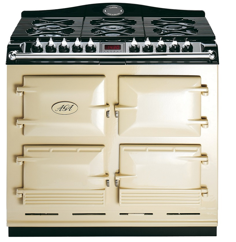 aga s series six four cooker green queen. Black Bedroom Furniture Sets. Home Design Ideas